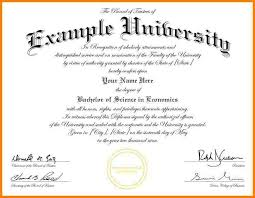 University Certificate Template 6 University Graduation Certificate ...