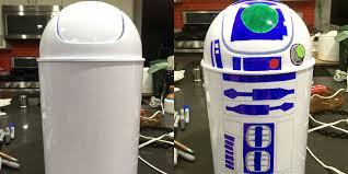 D I Y Star Wars R2 D2 Garbage Can Geekdad
