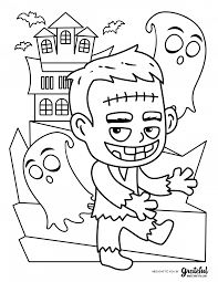 Halloween is coming up in just a couple of weeks! Free Halloween Coloring Pages For Kids Or For The Kid In You