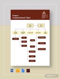 Project Organization Chart Template Project Organizational Chart Template Pdf Word Google