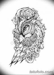 эскизы тату сова мужские 09032019 021 Tattoo Sketches