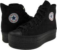 converse black high tops. shoes platform converse black high top sneakers chuck tops