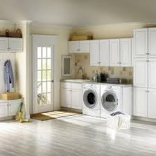 Simple White Ikea Laundry Room Set With French Door Plus Flax Wall Paint  Color Background Amazing Pictures