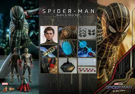 SPIDER-MAN: NO WAY HOME Hot Toys Figure ...