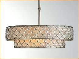 drum shade chandelier chandelier inspiring rectangular drum shade stunning drum shade kitchen lighting