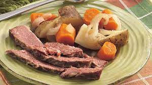 slow cooked corned beef dinner recipe