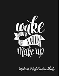 Makeup Face Chart A Professional Blank Face Chart For