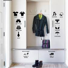 Small Picture House Rules Garments Label Chest Drawer Ay1101 Furniture Removable