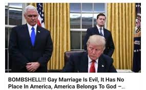Gay marriage is evil