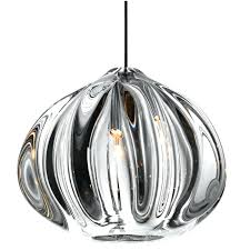 modern glass pendant modern glass shade o urchin pendant lighting by made to order for large