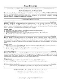 Best Retail Manager Resume Australia Retail Resume Template Free For