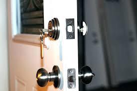 electronic door locks review automated garage door lock garage door deadbolt shark tank excellent on exterior