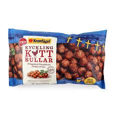 Get high quality logotypes for free. Frozen Kronfagel Chicken Meatballs 600g Sweden South Stream Market