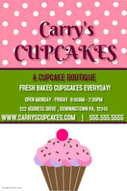 180 Customizable Design Templates For Bakery Postermywall
