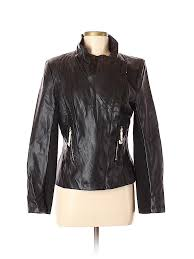pin it pin it on iman women faux leather jacket size m