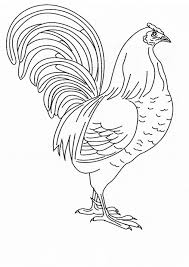 Small Picture Chicken coloring page Animals Town animals color sheet