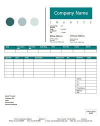 Contractor Invoice Samples Template Printable Word Excel Consulting
