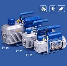 220V Minyatür Vakum Pompası Klima Buzdolabı Soğutma Bakım Döner Kanatlı Vakum  Pompası
