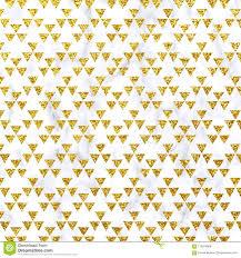 Schitter Driehoek Op Marmeren Achtergrond Schitter Textuur Het Goud