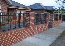 brick fences. Perfect Brick Brick Fencing Designs By 8 Star Fencing U0026 Gates Solution Pty Throughout Fences Hipages