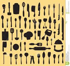 kitchen utensils silhouette vector free. Kitchen Utensils Silhouette Vector. Measuring, Domestic. Vector Free I