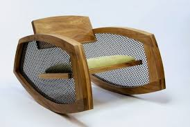 modern wooden furniture. Low Wooden Rocking Chair To Fit Any Modern Interior Furniture