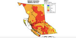 British columbia's chief fire information officer, kevin skrepnek, told ctv news thursday. B C Wildfires 2021 Evacuation Order And Two Alerts Issued For B C Communities Because Of Spreading Fires Vancouver Sun