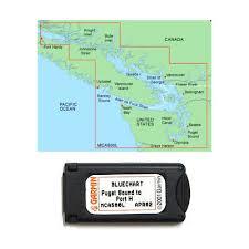 Garmin Bluechart Puget Sound To Port Hardy Mca500l Data Card