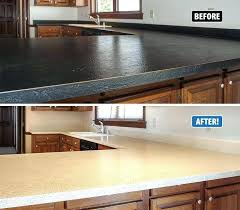 refinish kitchen countertops refinishing kitchen yourself redo kitchen kit image concept resurfacing kitchen countertops with concrete