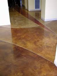 stained concrete ideas