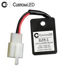 Elfr 1 Electronic Led Flasher Relay With Oem Connector
