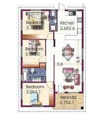 3 bedroom bungalow plans 3 bedroom house design in three bungalow plans designs floor plan free