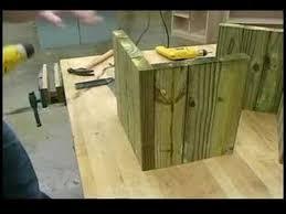 building wooden garden planters