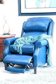 lazy boy blue leather recliner navy blue recliner blue leather reclining sofa topic to blue