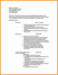 8 Massage Therapy Resume Examples New Hope Stream Wood