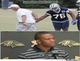 Hilarious Memes :: Greg Hardy and Ray Rice: A Double Standard? via Relatably.com