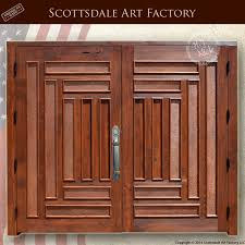 Magnificent Craftsman Double Front Doors with Craftsman Double Front