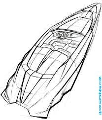 Small Picture Speed Boat Coloring Pages chuckbuttcom