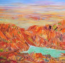 call of nature wa by ida ernhardt australian outback painting