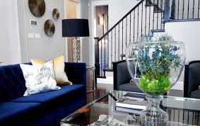 blue sofas living room: royal sofa  atmosphere interior royal sofa