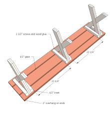 diy picnic bench plans. step 4 instructions: diy picnic bench plans b