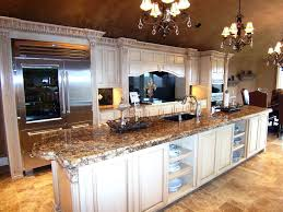 back bar lighting. One Wall Kitchen Design Brown Oak Laminate Home Wide Bar Square Back Recessed Lighting