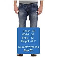 Diesel Jeans Men Size Chart Diesel Men Denim Safado Straight 0ub89 Diesel Size Guide