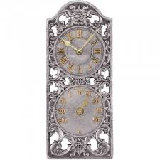 westminster outdoor wall clock with