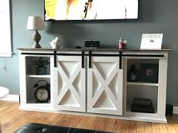 barn door media center. Barn Door Media Center. Wonderful Center Elegant Sliding Stand Plans Steel I