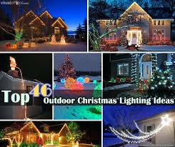 outdoor xmas lighting. Outside Christmas Lighting Ideas Outdoor Decorations 0 For Trees . Xmas