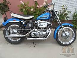 1972 harley davidson xlh 1000 cc