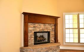 craftsman fireplace mantel shelf home design ideas