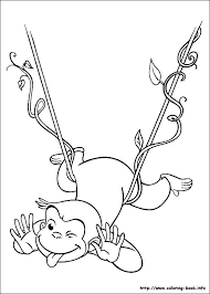 Free Curious George Coloring Pages Curious Coloring Pages Curious