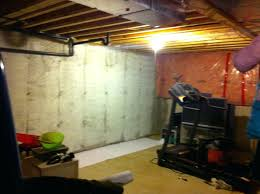 how to decorate a concrete wall without paint basic how to decorate an unfinished basement wall